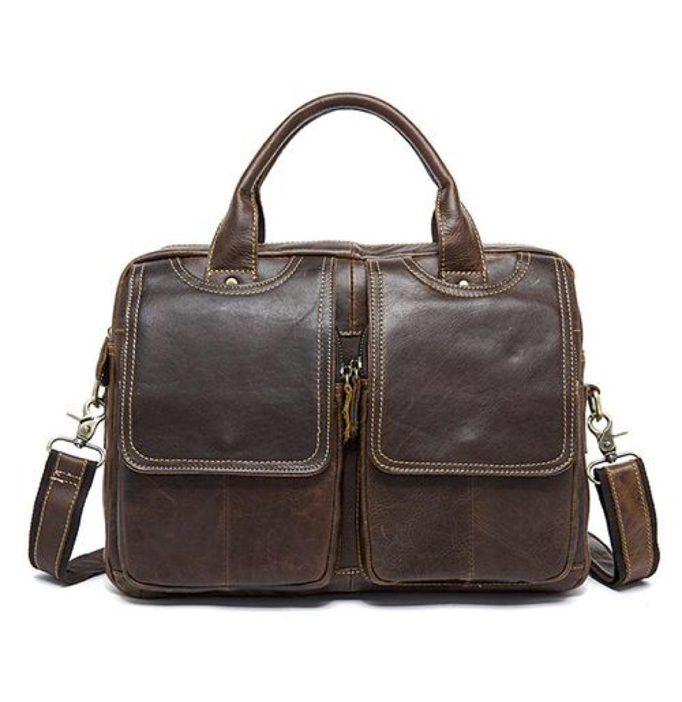 MVA Men's Briefcase bag 14inch Laptop bag