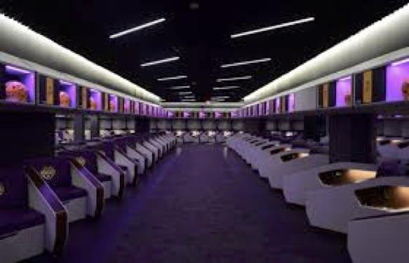 The LSU Locker Room Looks Like An Airplane | Rickshaw Journey