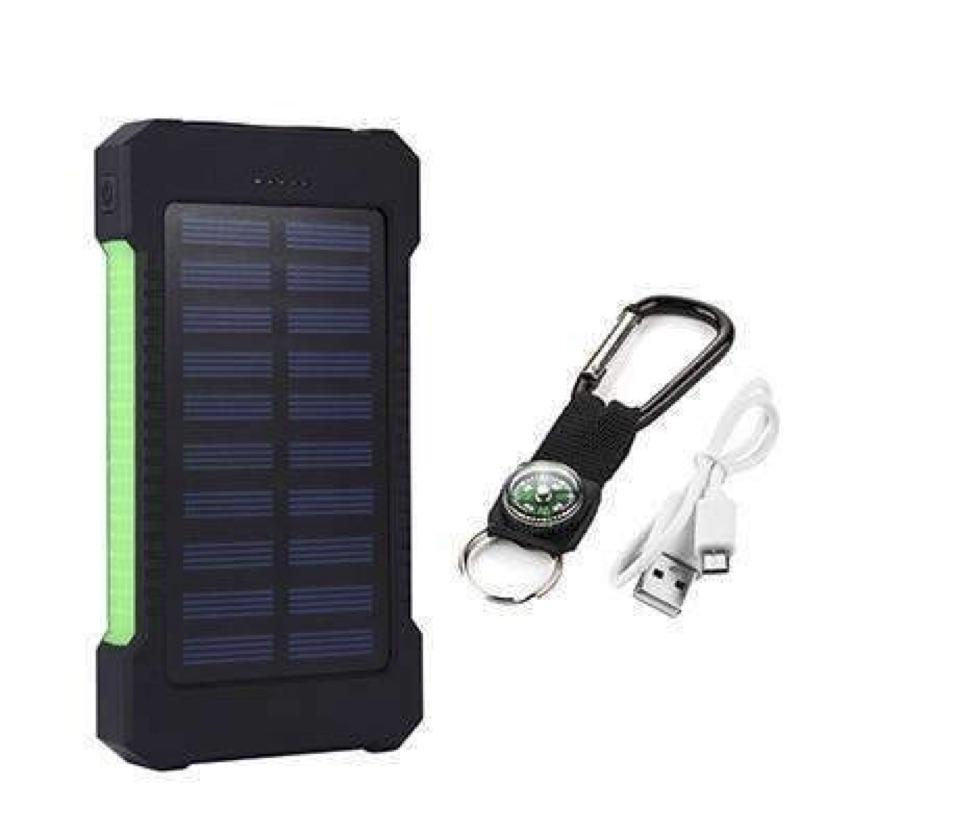 Today's Pick ☺️ Iphone 6 7 8 20000 mah Portable Solar Power Bank Charger...