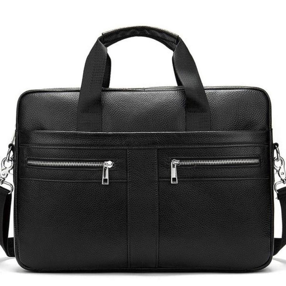 Today's Pick ☺️ WETSTAL Business Briefcase genuine leather...