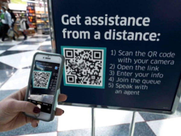"United Airlines introduces ""agent on demand"" at hub airports 