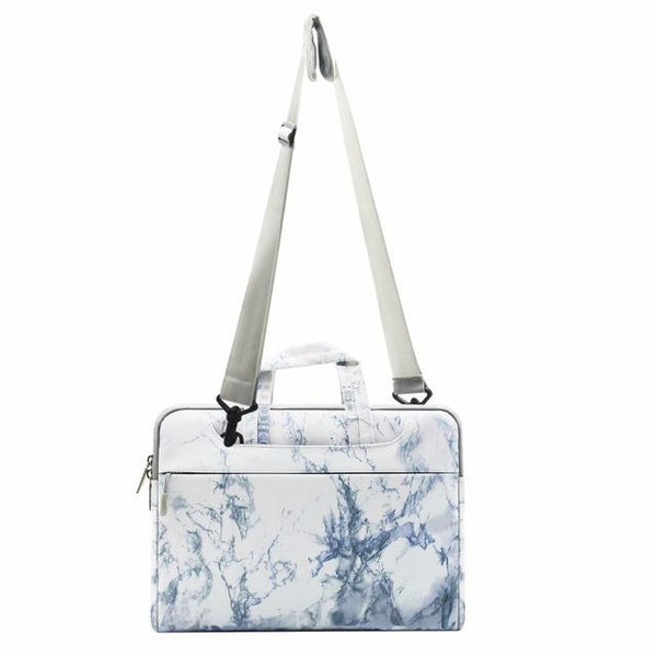11 13.3 15.6 inch Canvas Marble Laptop - Rickshaw Journey