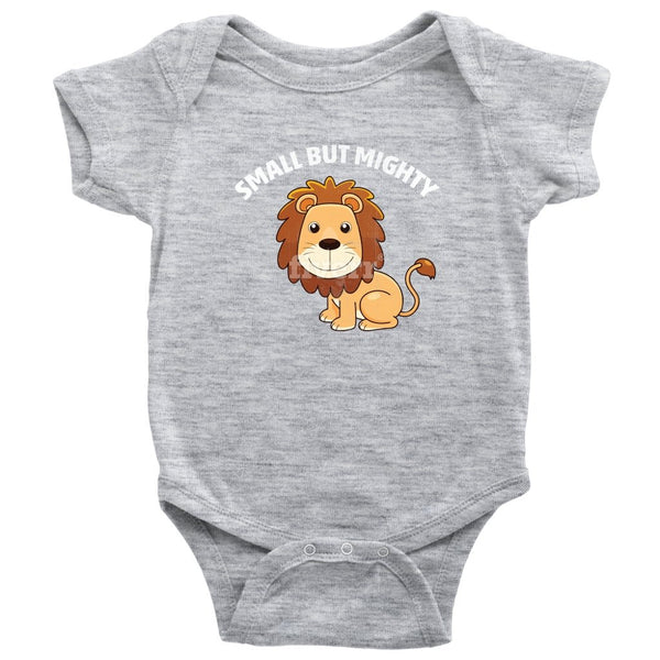 Baby Bodysuit - Onesie Small but mighty lion - Rickshaw Journey