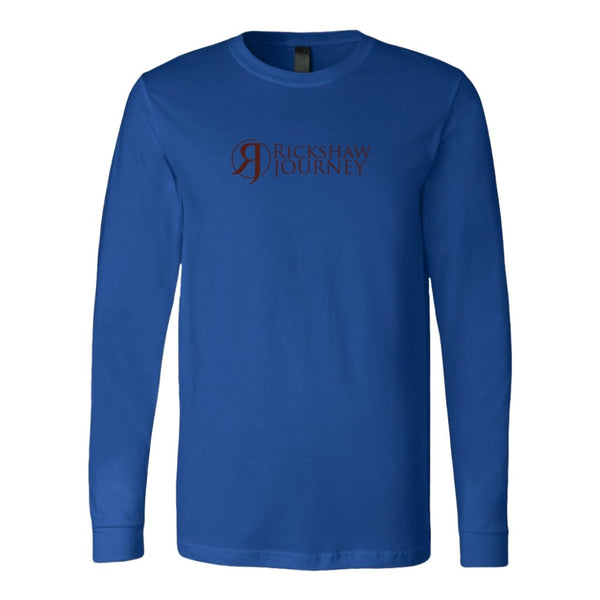 Canvas Long Sleeve Shirt with Rickshaw Journey logo - Rickshaw Journey