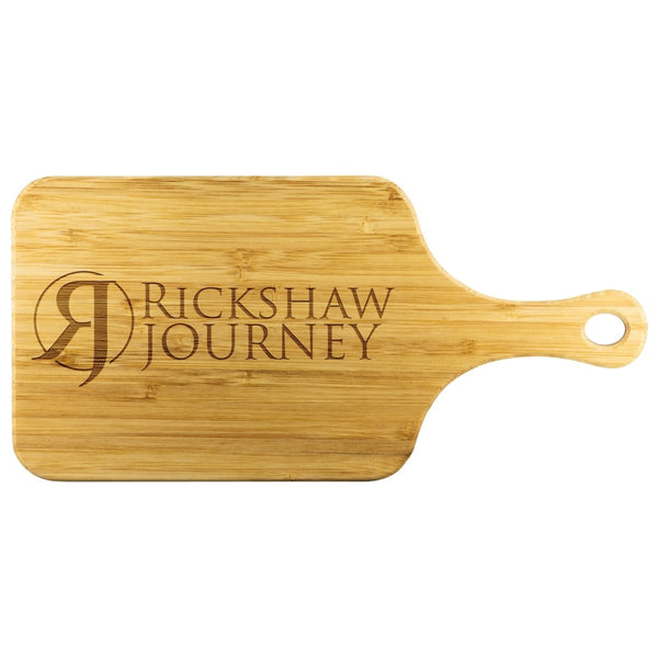 Cutting board with RJ logo - Rickshaw Journey