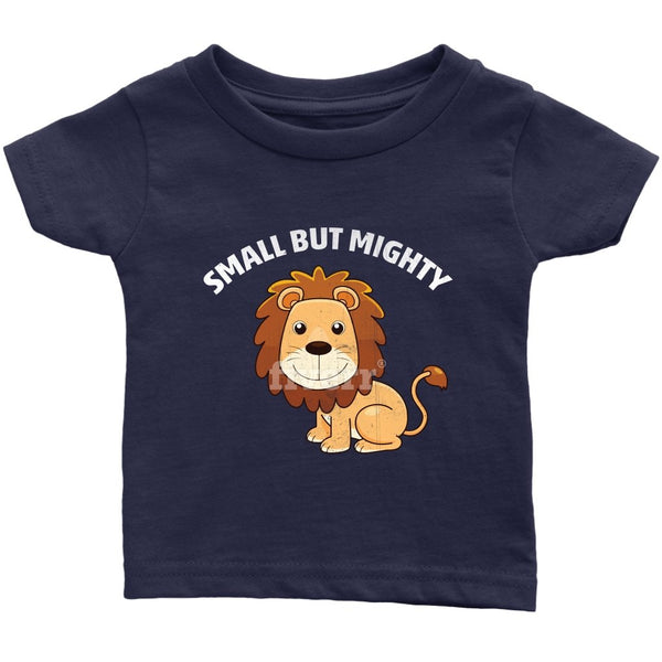 Infant T-Shirt - Small but Mighty Lion - Rickshaw Journey