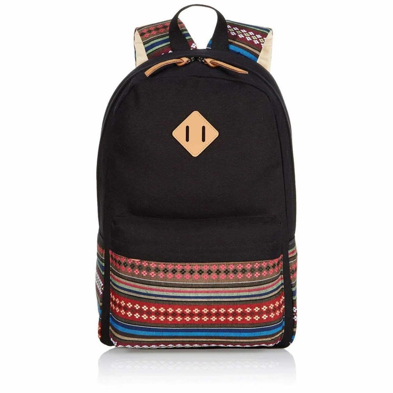 Ladies vintage canvas backpack - Rickshaw Journey