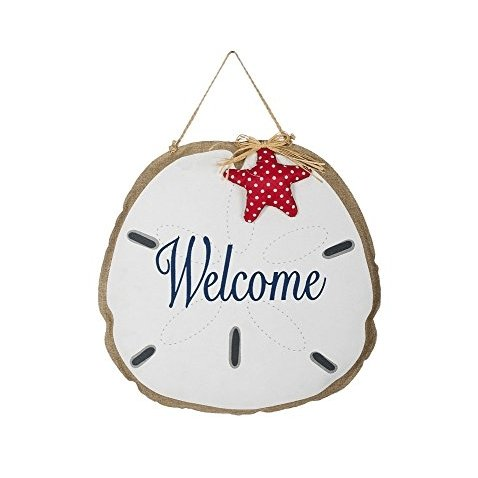 Sand Dollar welcome door hanger signs - Rickshaw Journey