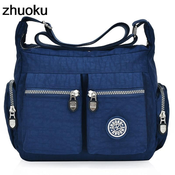 Women Top-handle Shoulder Bag Designer Handbag by Zhuoku - Rickshaw Journey