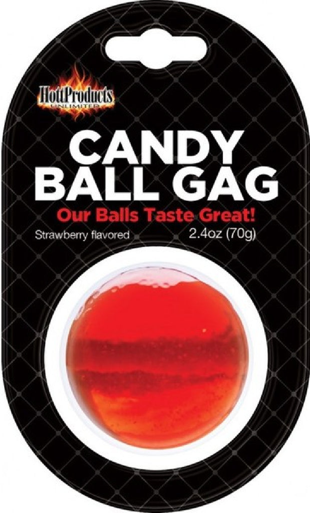 Candy Ball Gag (Strawberry)
