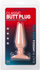 Butt Plug - Smooth - Medium (Flesh)