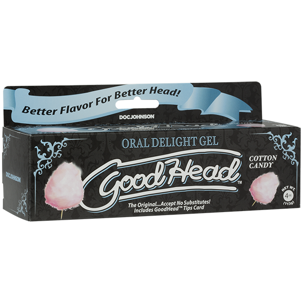 Oral Delight Gel - 4 Oz Tube (Cotton Candy)