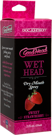 Wet Head Dry Mouth Spray - Sweet Strawberry (59ml)