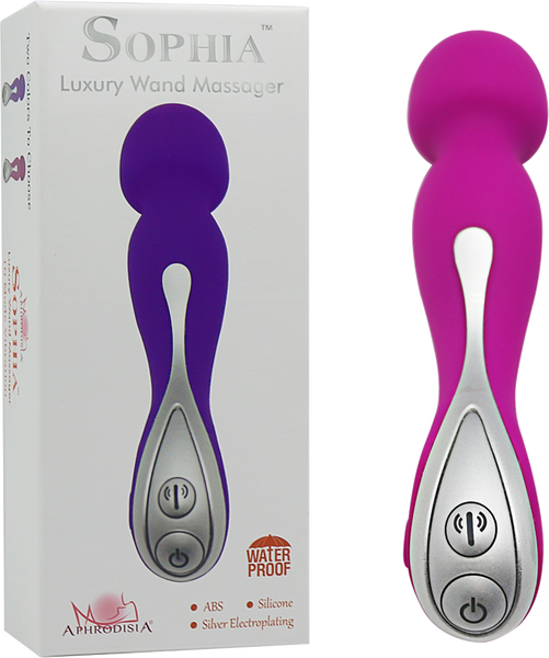 Sophia Luxury Wand Massager (Pink)