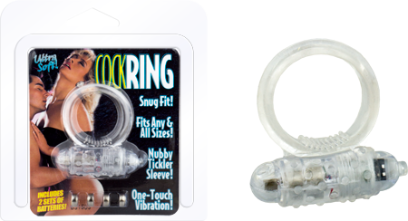 Ultra Soft Cockring (Clear)