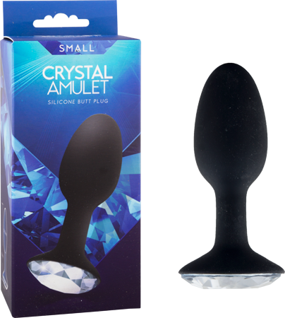 Crystal Amulet Silicone Buttplug - Small