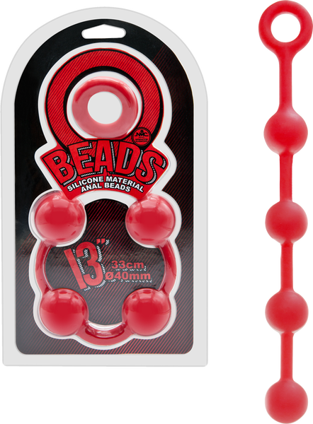 "Beads 13"" (Red)"