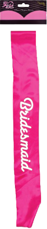 Hen Night Sash - Bridesmaid
