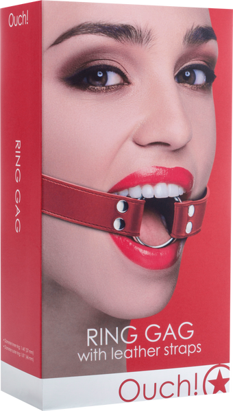 Ring Gag (Red)