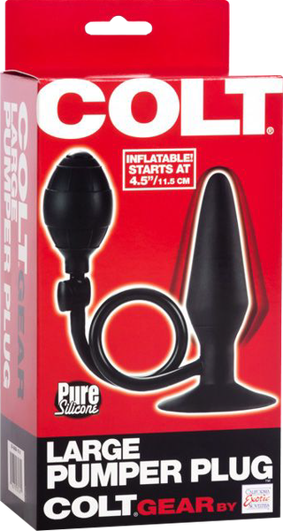 Large Pumper Plug (Black)