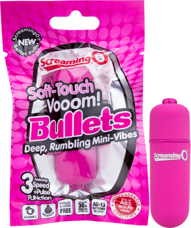 Vooom Bullet Soft-Touch (Pink)