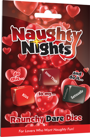 Naughty Nights Raunchy Dare Dice