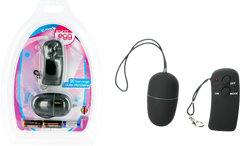 10 Speed Remote Control Vibrating Egg (Black)