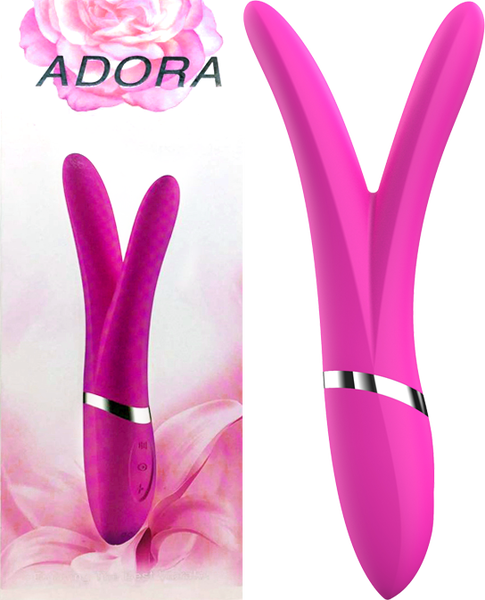 Adora Rechargeable Vibrator (Pink)