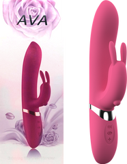 Ava Rechargeable Rabbit Vibrator (Pink)