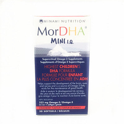 Minami Nutrition MorDHA Mini 30 Softgels