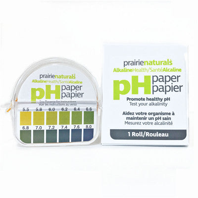 Prairie Naturals pHydrion pH Strips 1 Roll