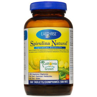 Earthrise Spirulina 500 mg 360 Tablets