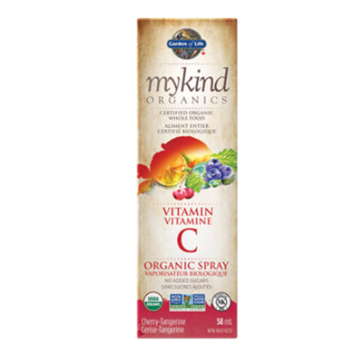 Garden of Life MyKind Organics Vitamin C Spray Cherry 58ml