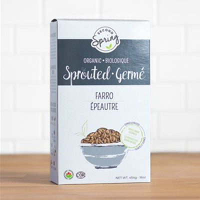 Second Spring Organic Sproted Farro 454g