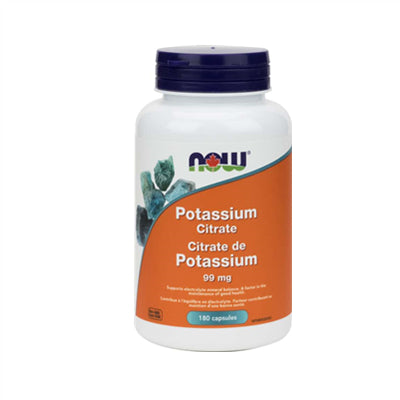 Now Potassium Citrate 99 mg 180 Capsules