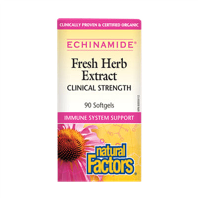 Natural Factors Echinamide Anti-Cold 90 Softgels