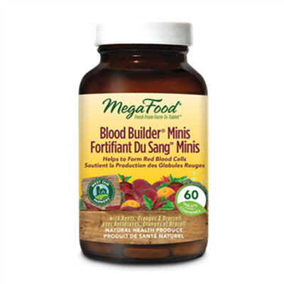 MegaFood Blood Builder Minis 60 Tablets