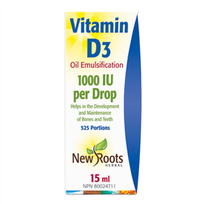 New Roots Vitamin D3 15ml