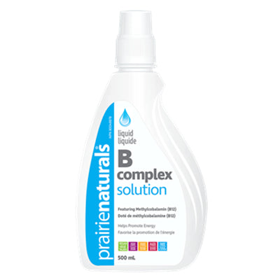 Prairie Naturals Liquid B Complex Solution 500ml