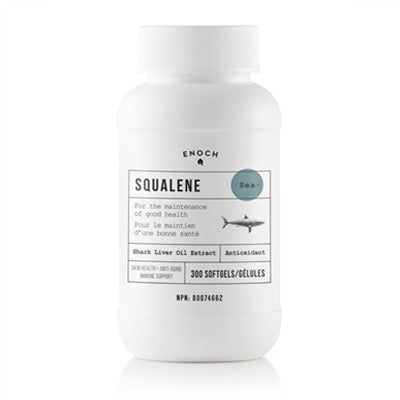 Enoch Squalene 1000mg 300 Softgels