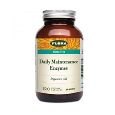 Flora Udo's Ultimate Digestive Enzyme Daily Maintenance 120 capsules