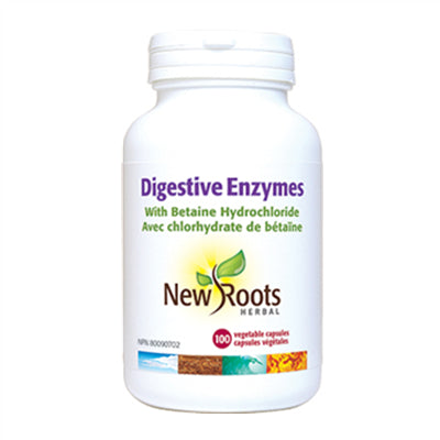 New Roots Digestive Enzymes 100 VCapsules