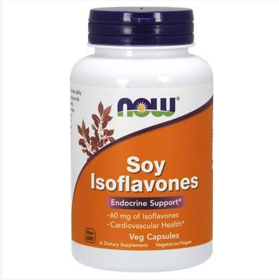 Now Soy Isoflavones 60 mg 60 VCapsules
