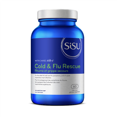 Sisu Cold & Flu Rescue 60 VCapsules
