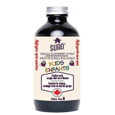 Suro Organic Elderberry Syrup for Kids 236ml