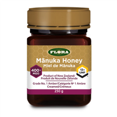 Flora New Zealand Manuka Honey 400+ 250g