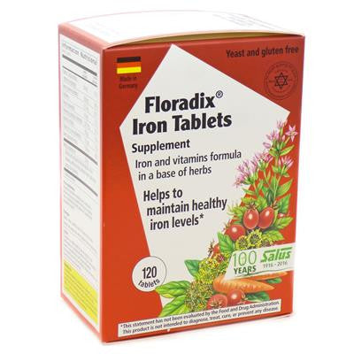 Floradix Iron 120 Tablets
