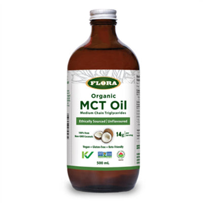 Flora Organic MCT Oil 500ml