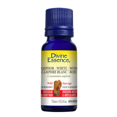 Divine Essence Camphor White Wood (Wild) 15 ml