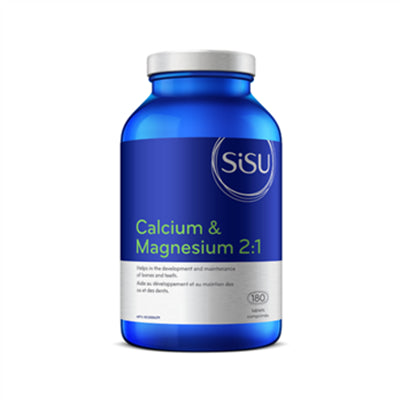 Sisu Calcium & Magnesium 2:1 300mg 180 Tablets
